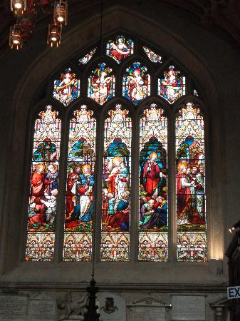 Bath Abbey: Stained glass windows