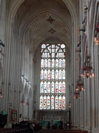 Bath Abbey: Inside the Abbey