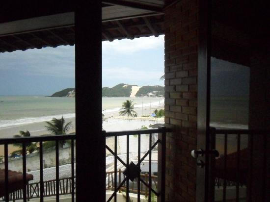 Visual Praia Hotel: Sacada