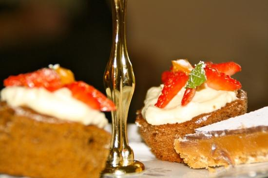 Tigh na Sgiath Country House Hotel: afternoon tea