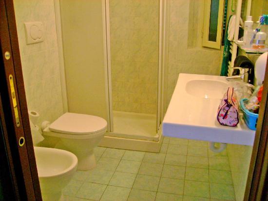 Hotel Scoglio Bianco: il bagno