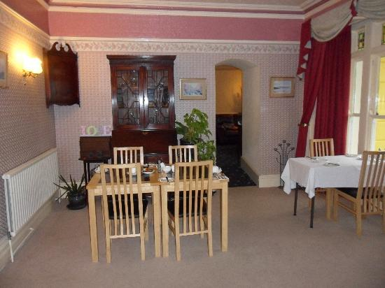 Muriau Park Guest House: dining room
