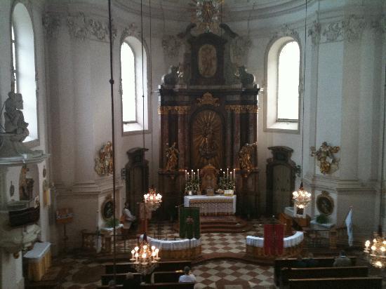 Institut St Sebastian: Kirche St. Sebastian