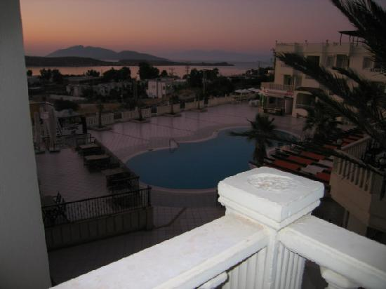 Bellacasa Suites & Club: view from our balacony