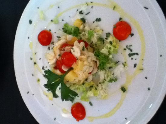i Clementini: Misto De Mare - Octopus Salad