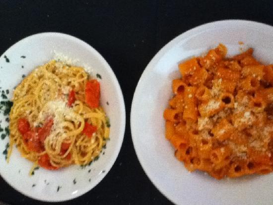i Clementini: Mezza Manica Amatr and Spaghetto Innervosito