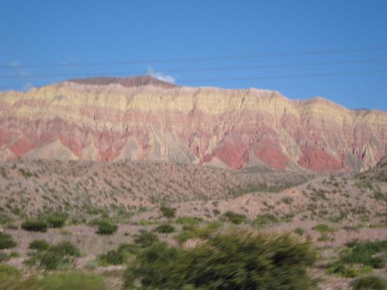 Paseo de los Colorados: paisajes