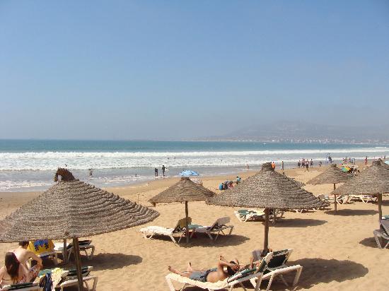 Hotel Riu Tikida Dunas: Beach