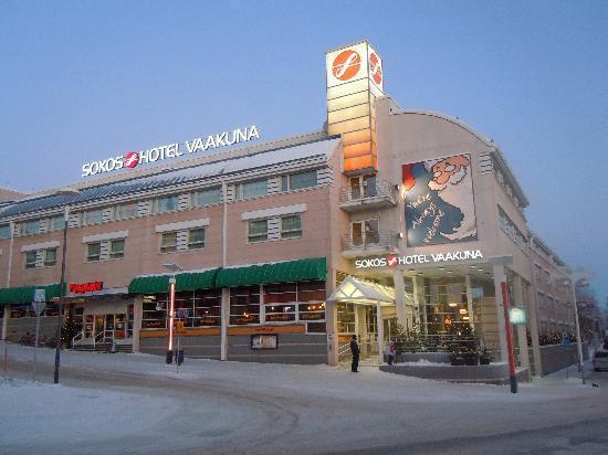 Original Sokos Hotel Vaakuna,Rovaniemi: esterno