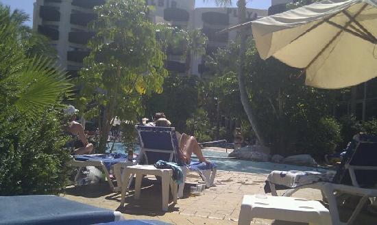 Albir Playa Hotel & Spa: Rear of hotel and pool