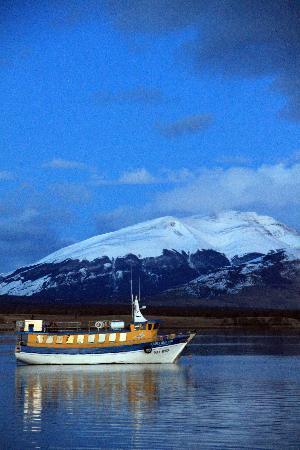 Torres del Paine National Park: Amanecer desde del lugar de partida Puerto Natales