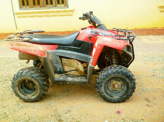 Quad Adventure Cambodia Siem Reap: It's how I roll.