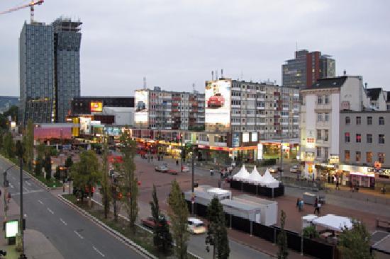 Hotel Monopol: Monopol - Aussicht am Tag