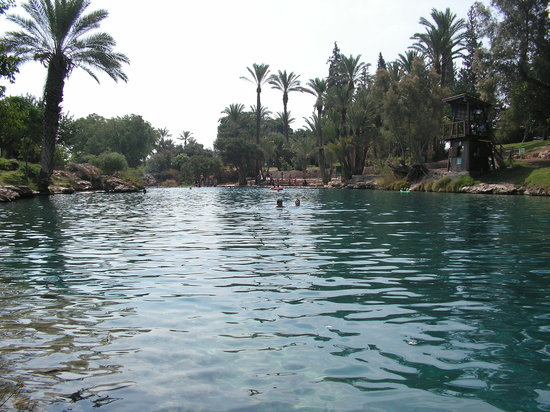 Gan HaShlosha National Park: first pool