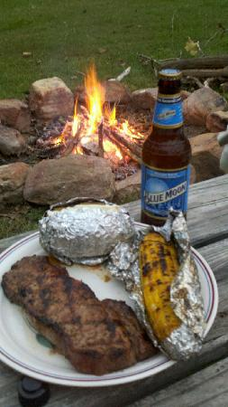 Shenandoah River Outfitters, Inc.: What u really can cook for dinner why bother going to a restaurant when u have one in your back