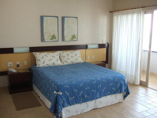Dunas Praia Hotel: Quarto vista mar