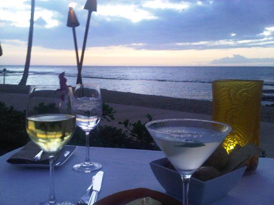 Four Seasons Resort Hualalai: Dinner !