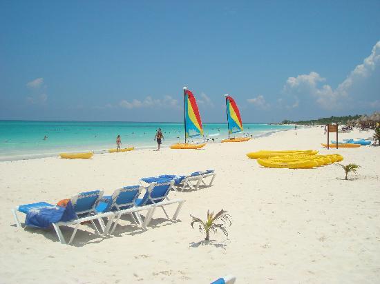 Catalonia Playa Maroma: La playa es hermosa!