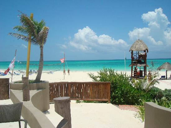 Catalonia Playa Maroma: La arena blanca y el mar calentito!!