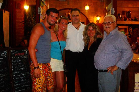 Mythos: Us with the family owners