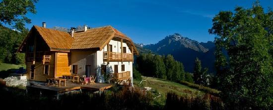 Gite AlpeLune: Gîte AlpeLune ligt op de flanken van Nationaal Park Les Ecrins