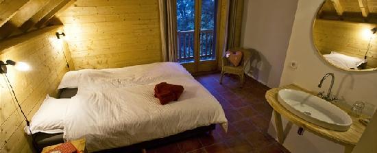Gite AlpeLune: De kamers van Gîte AlpeLune zijn ruim en sfeervol.
