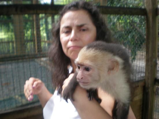 Roatan Christopher Tours: My wife at Boddens Preserve