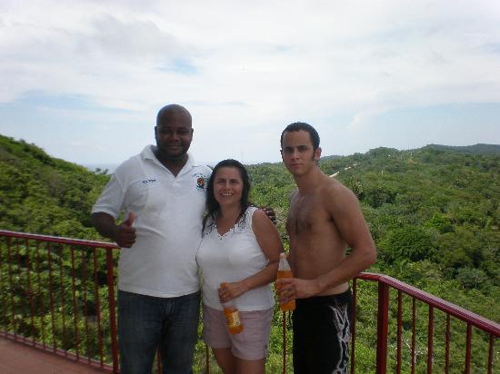 Roatan Christopher Tours: Our Guide, Kevin...