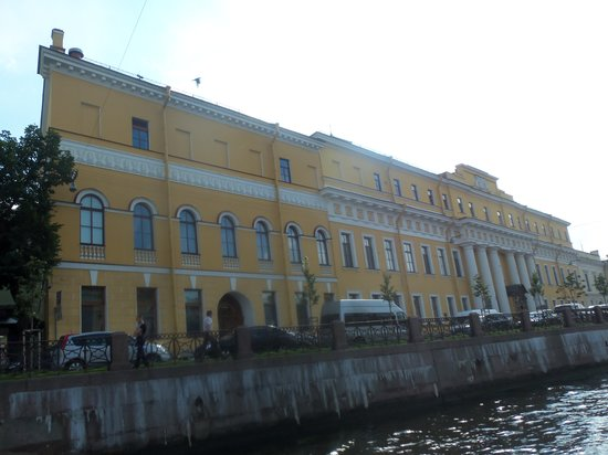 Yusupov Palace on Moika River
