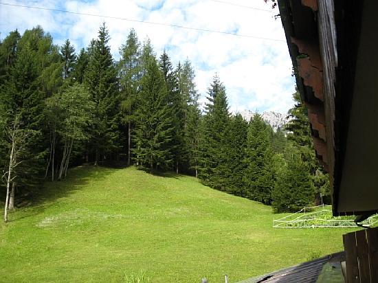 Albergo Nuoitas: Foto dal terrazzo