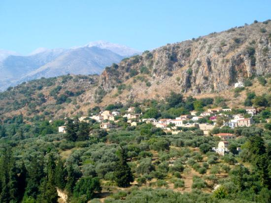 Kamares: Maheri village from the opposite side of the valley