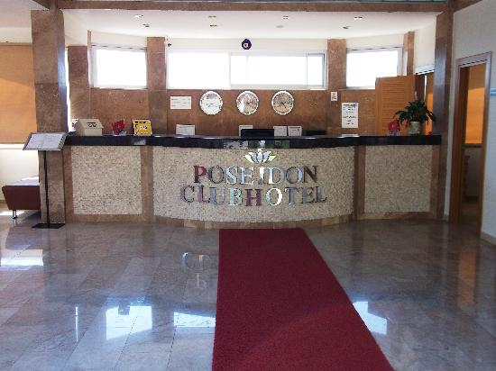 Poseidon Club Hotel: Reception area