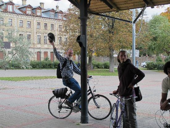 Riga Bike Tours & Rent: At Old Haymarket