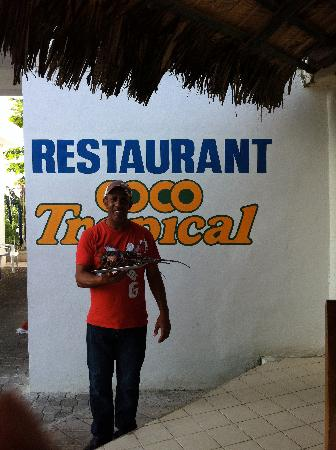 Dreams Punta Cana Resort & Spa: Resturant Coco Tropical - A MUST TRY