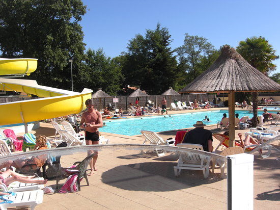 Saint-Hilaire-de-Riez, France: The pool!