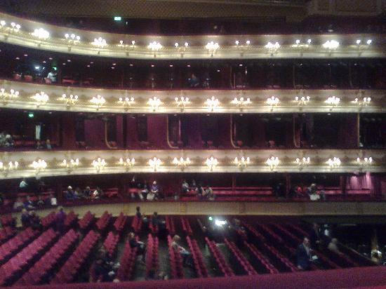 โรงละคร รอยัลโอเปร่า: View From Our Box In The Grand Tier