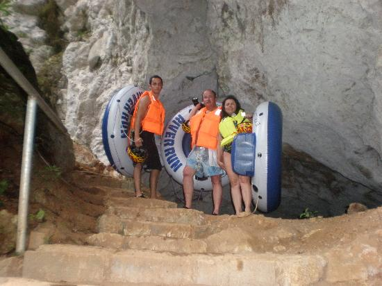 Cave Tubing & Zip Line with Explore Belize Caves: pretty area