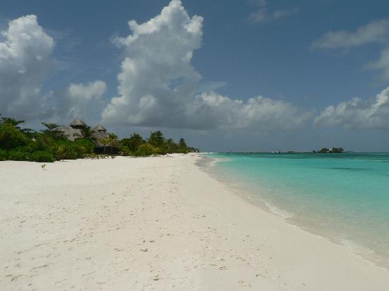 คุรีดุ ไอแลนด์ รีสอร์ท แอนด์ สปา: Endless beach