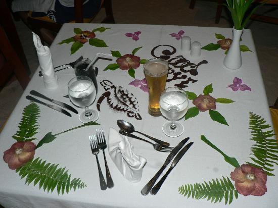 คุรีดุ ไอแลนด์ รีสอร์ท แอนด์ สปา: Good bye dinner