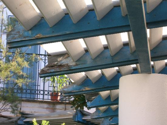 โรงแรมเลส์ เซเบิลส์ นัวร์: pergolato esterno
