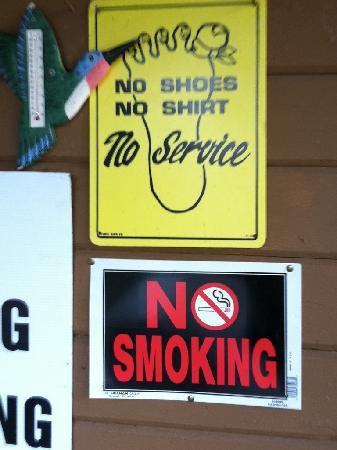 Kings Canyon Lodge: Obey!