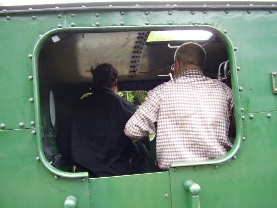 Gwili Railway: rushing waters