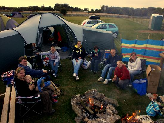 Stonehenge Campsite & Glamping Pods: Our Group