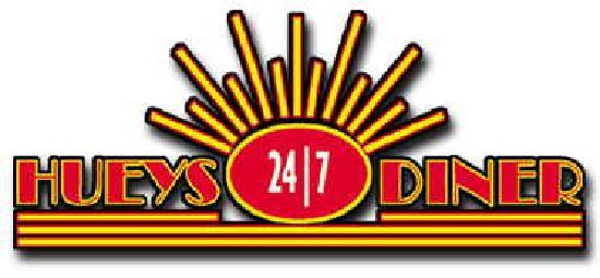 Huey's 24/7 Diner: Huey's Logo