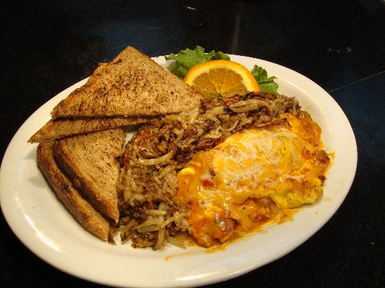 Huey's 24/7 Diner: Try our Huey's Omelette!