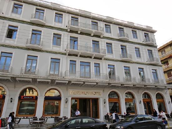 Menelaion Hotel : Bâtiment