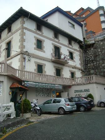 Mutriku, Espagne : Hotel