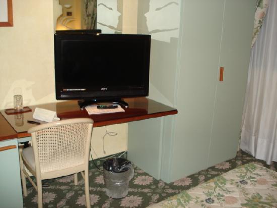 Air Hotel Linate: TV(チャンネル数が多すぎる)