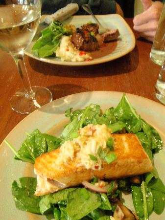 Alley House Grille: The entrees.