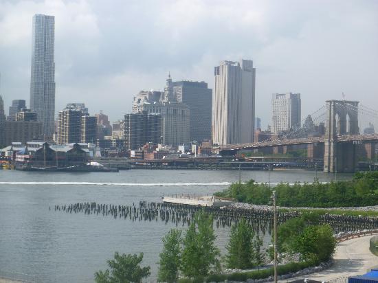สะพานบรู๊คลิน: vue  de la promenade des Heights